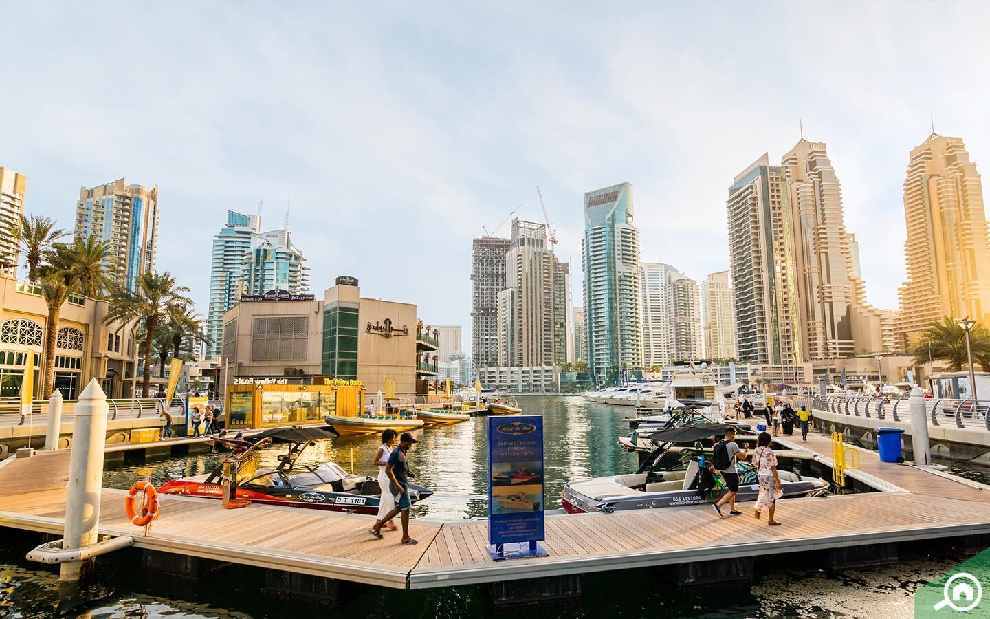 living in Dubai Marina