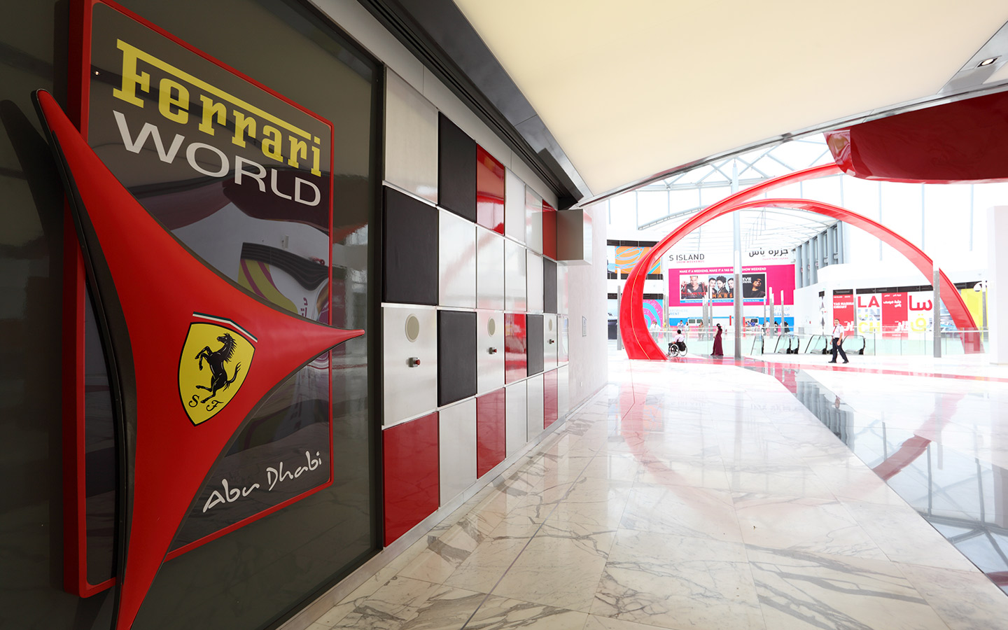 Ferrari World in Abu Dhabi Yas Island
