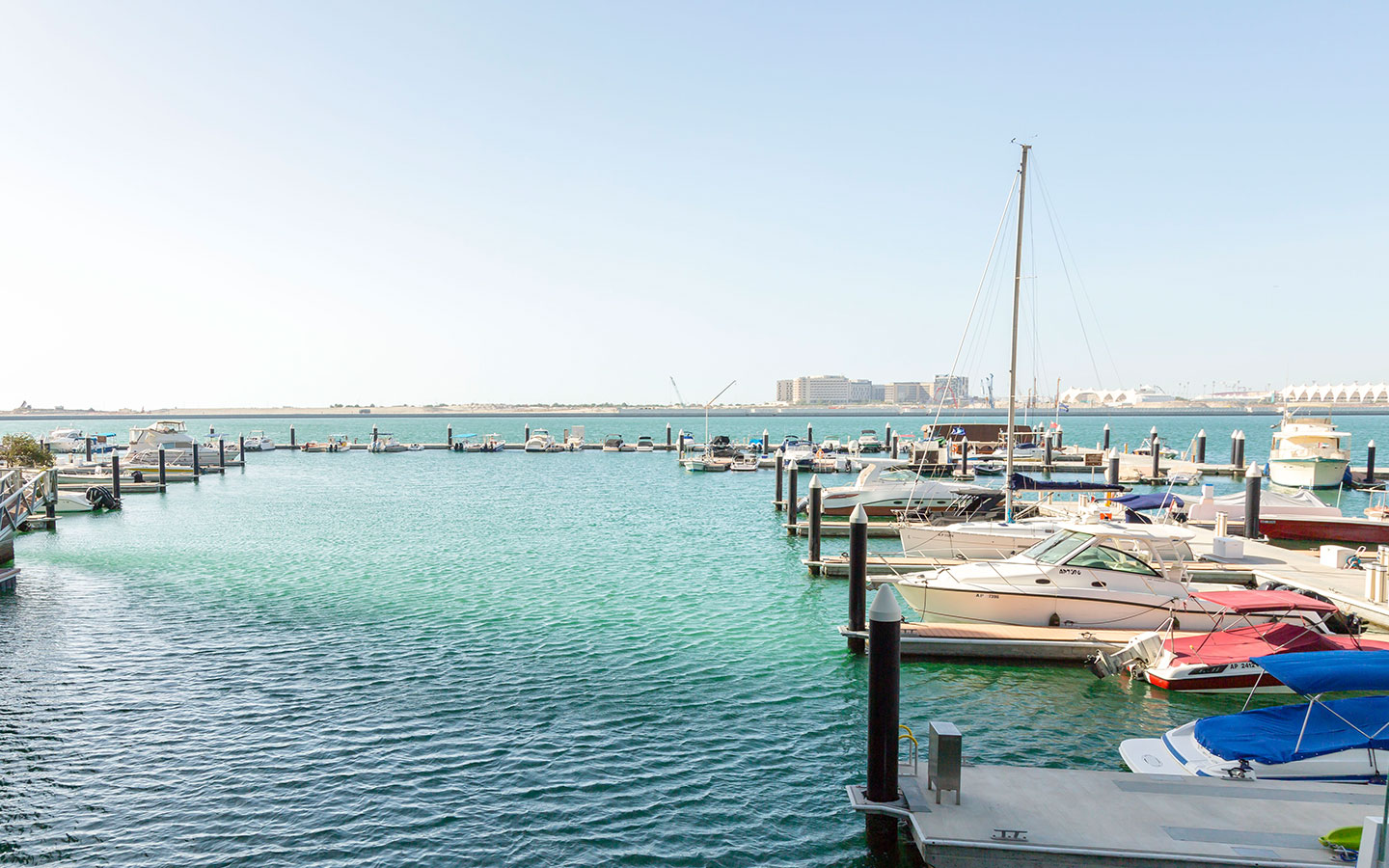 waterfront in Al Raha Beach