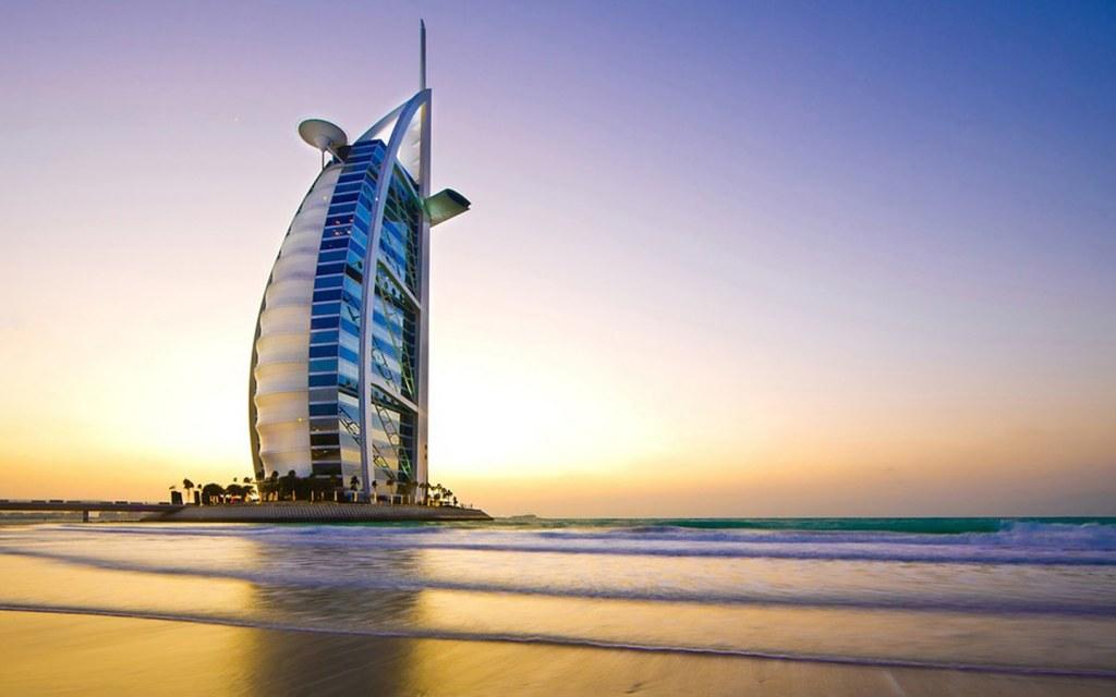 Beaches near Bur Dubai.
