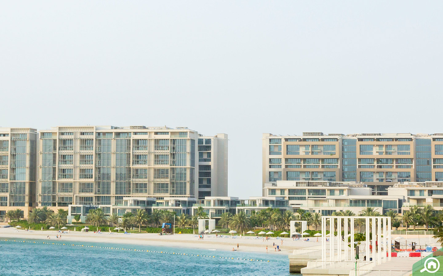 Apartments in Al Raha Beach
