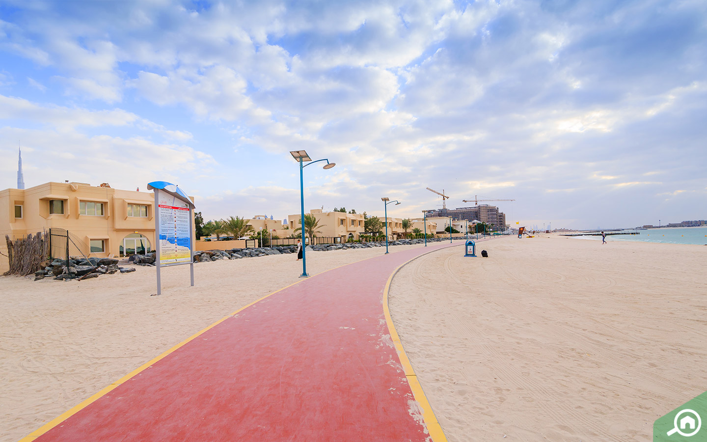 Jumeirah Beach is the closest to Business Bay