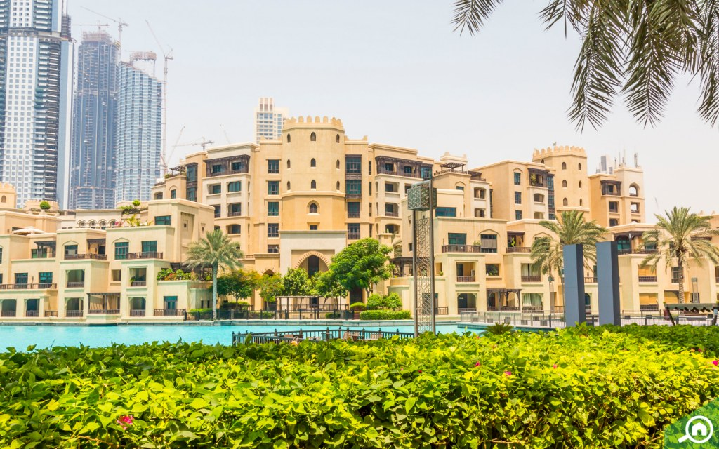 Apartments in Old Town, Downtown Dubai