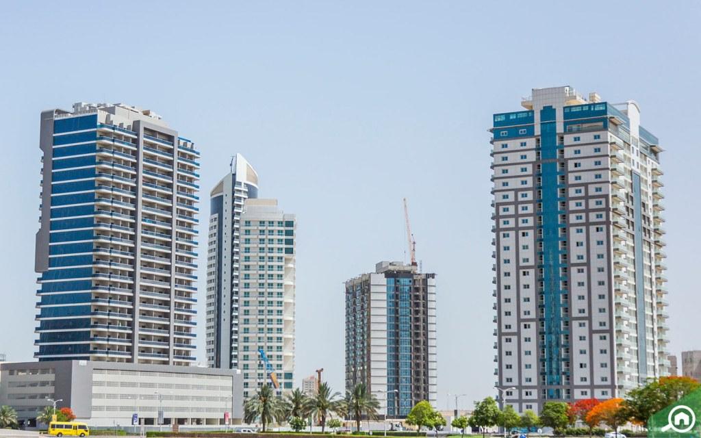 Residential Buildings in Dubai Sports City