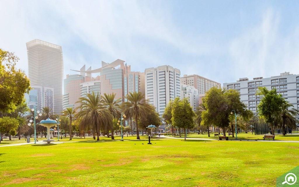 Park areas in Al Kalidiya