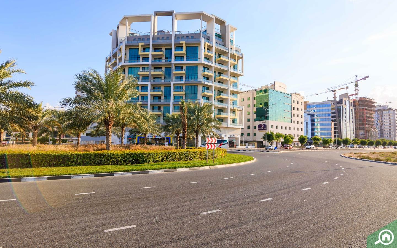 المباني في واحة دبي للسيليكون