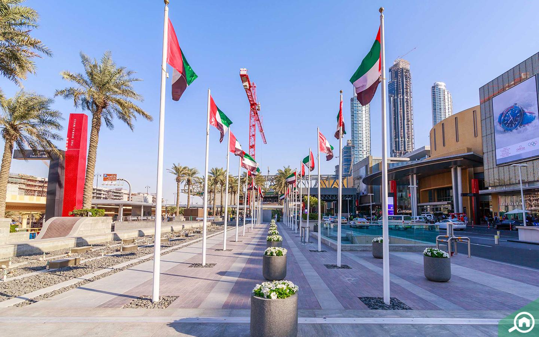 دبي مول في وسط مدينة دبي