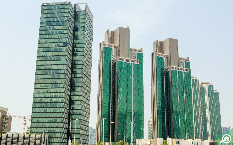 buildings in Al Reem