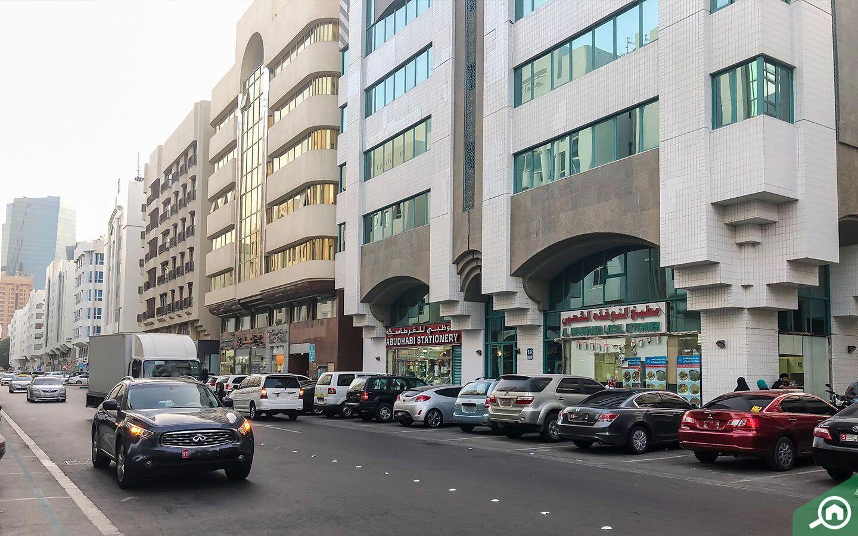 Parking spaces in Al Khalidiyah.