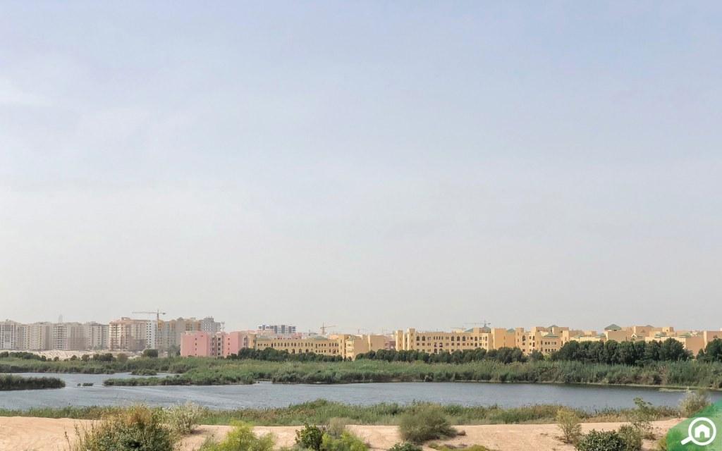 Al Warsan Lake in International City