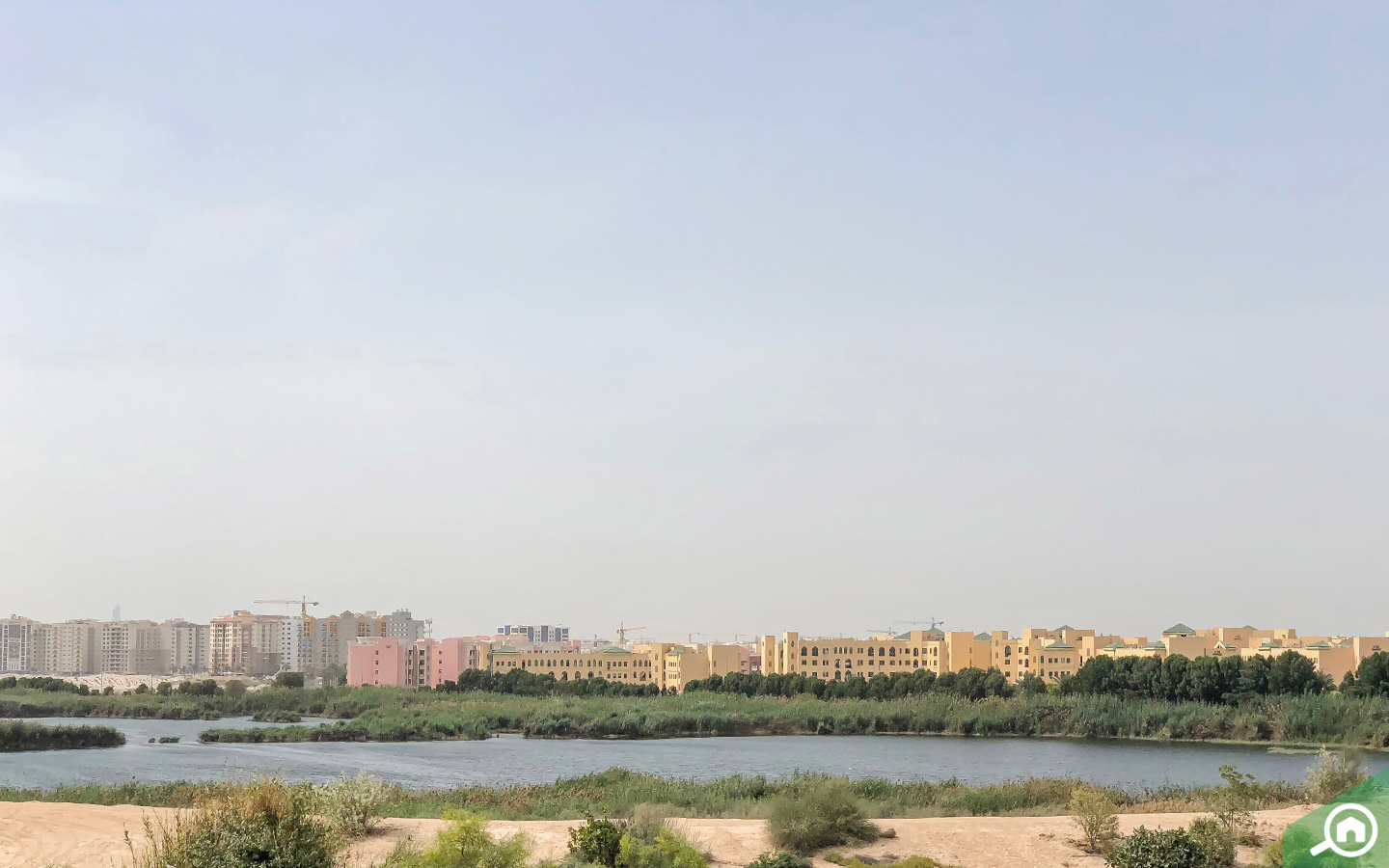 Al Warsan Lake in International City