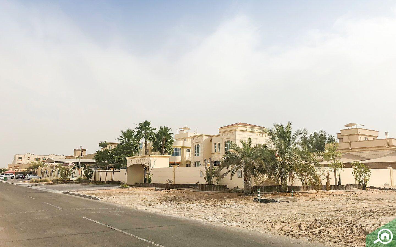 Beautiful villas in Khalifa City B