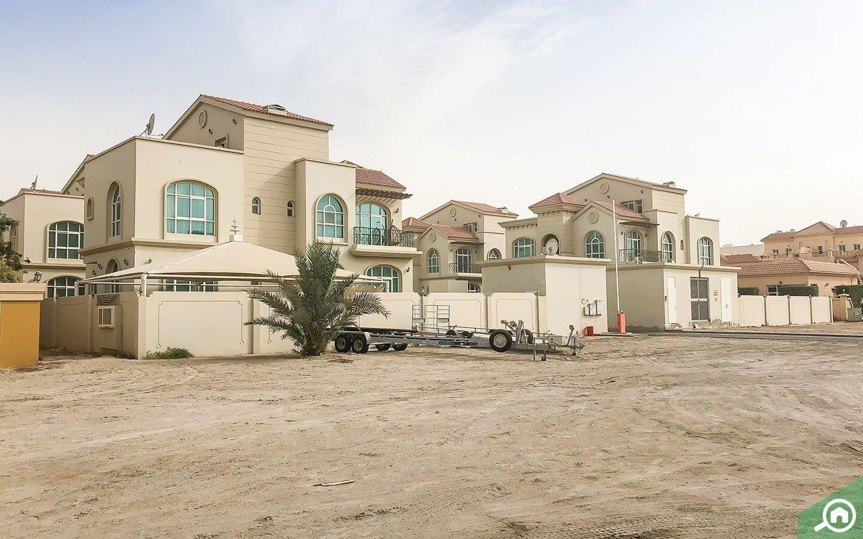 villa communities in Khalifa City
