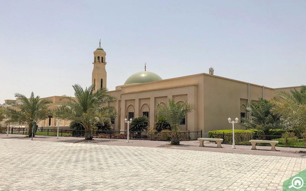 Mosque in Khalifa City A