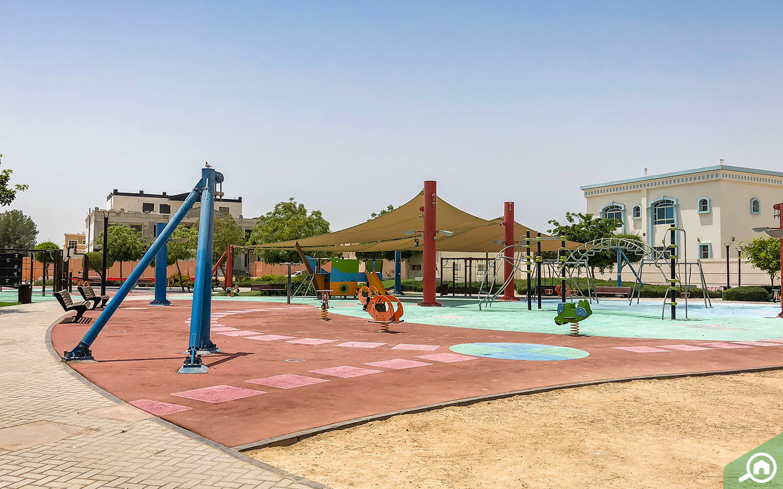 Parks in Khalifa City A