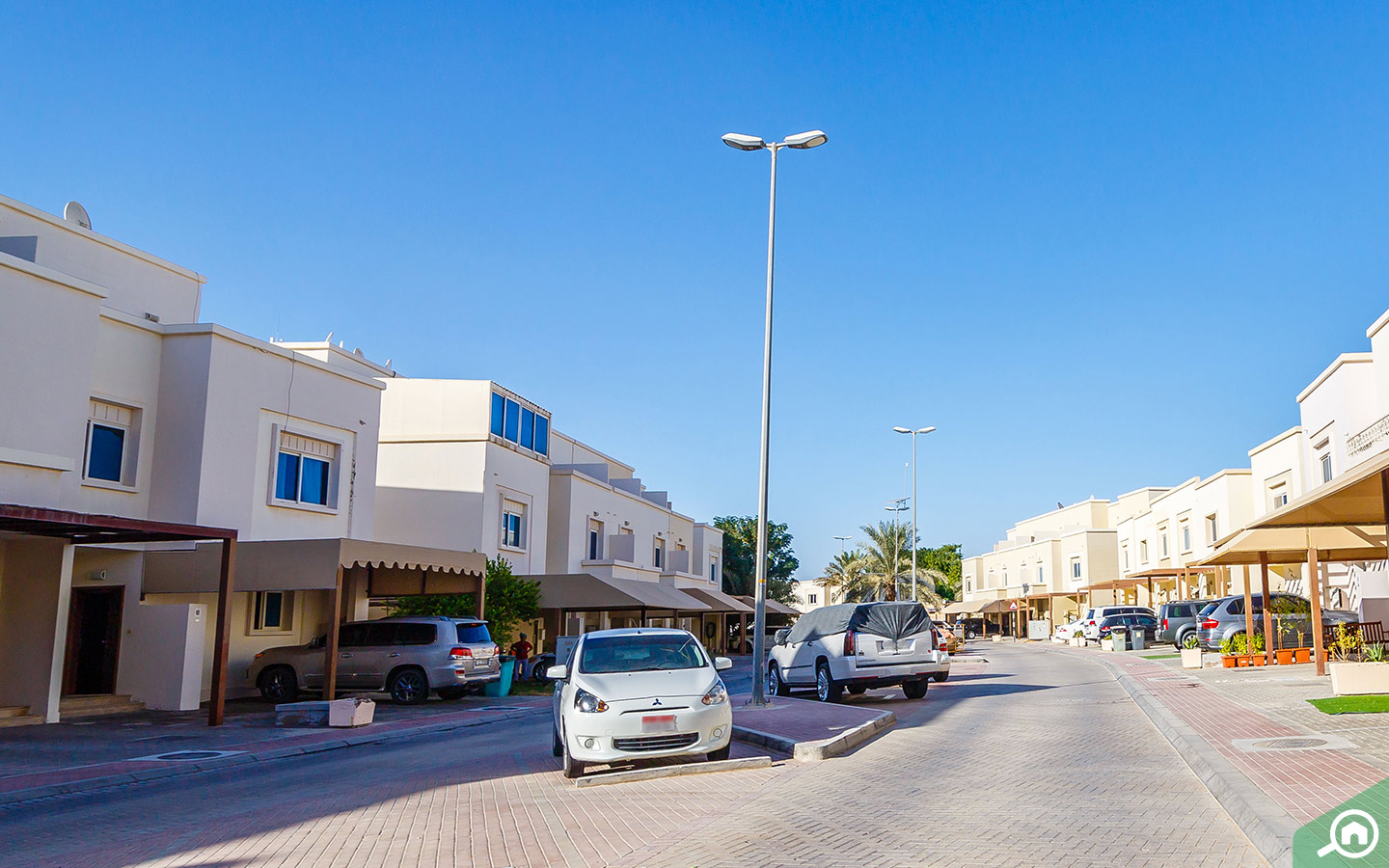 Parking in Al Reef Downtown