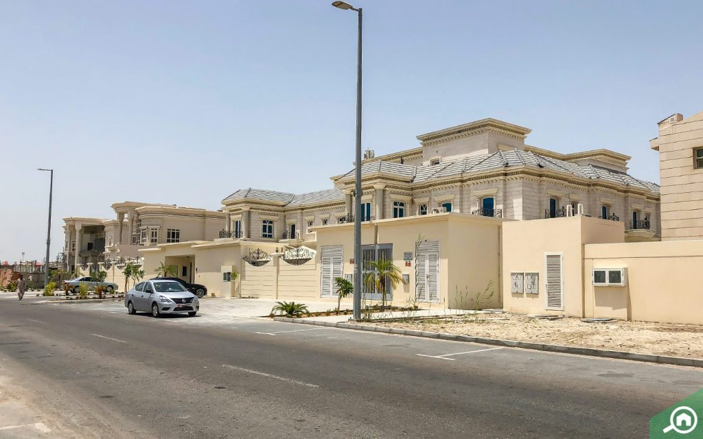 villas in khalifa city a