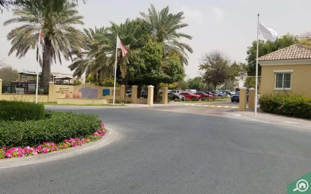 arabian ranches golf club