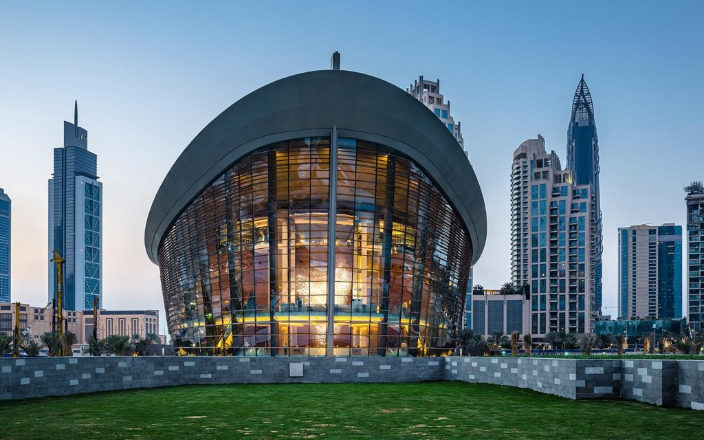 Dubai Opera in Downtown Dubai