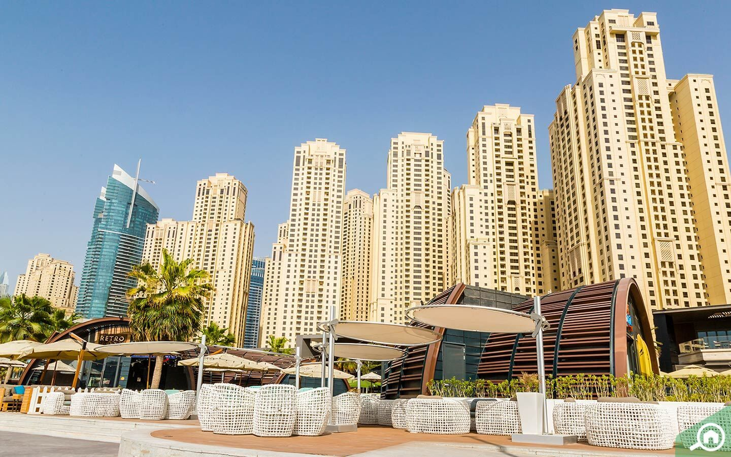 apartments for rent and sale in JBR
