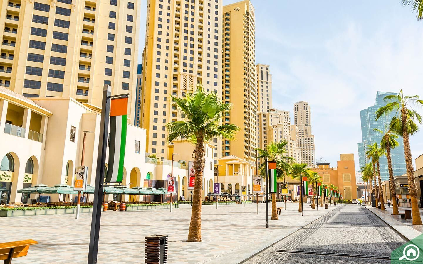 apartments in JBR