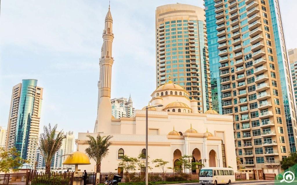 Al Rahim Mosque near JBR