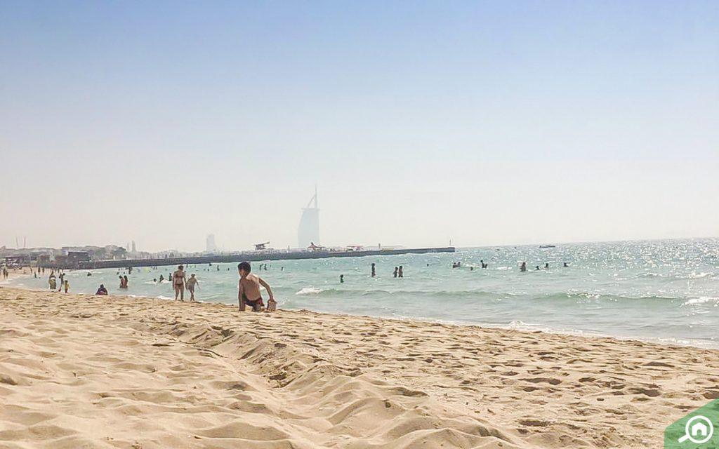 kite beach near jvc