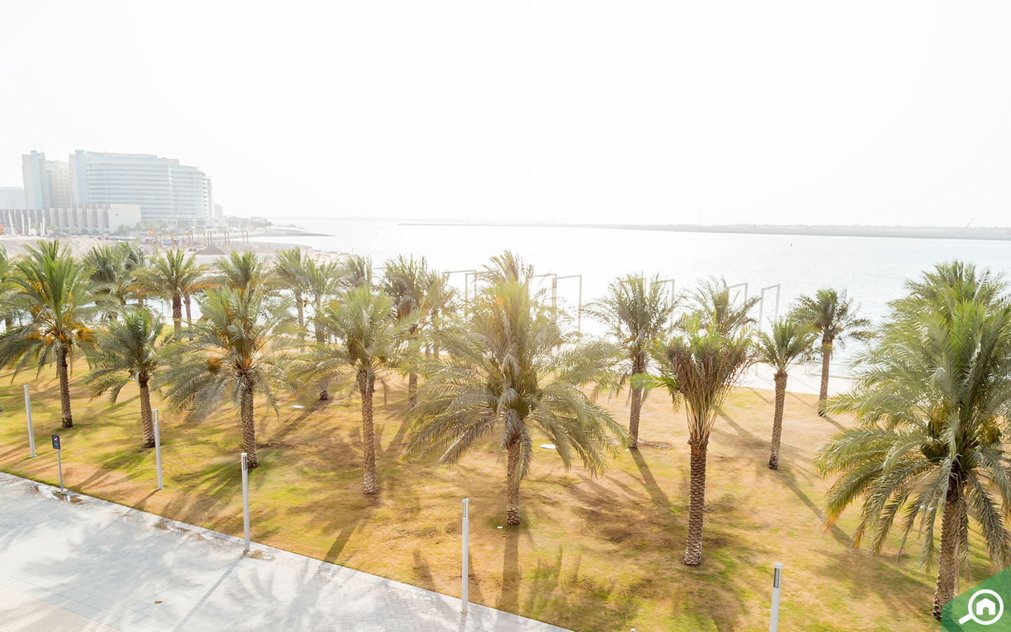 Al Raha Beach Near Khalifa City A