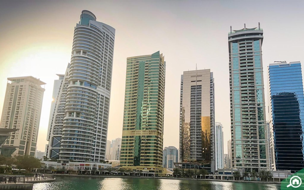 Apartments in JLT