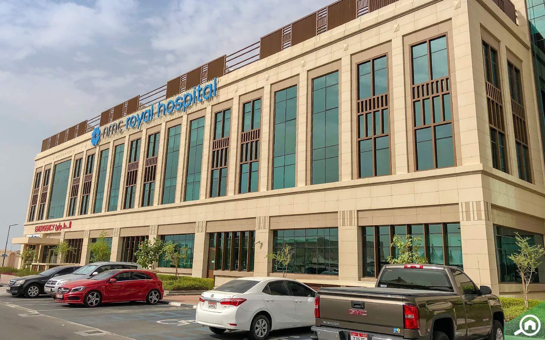 hospitals in Khalifa City B