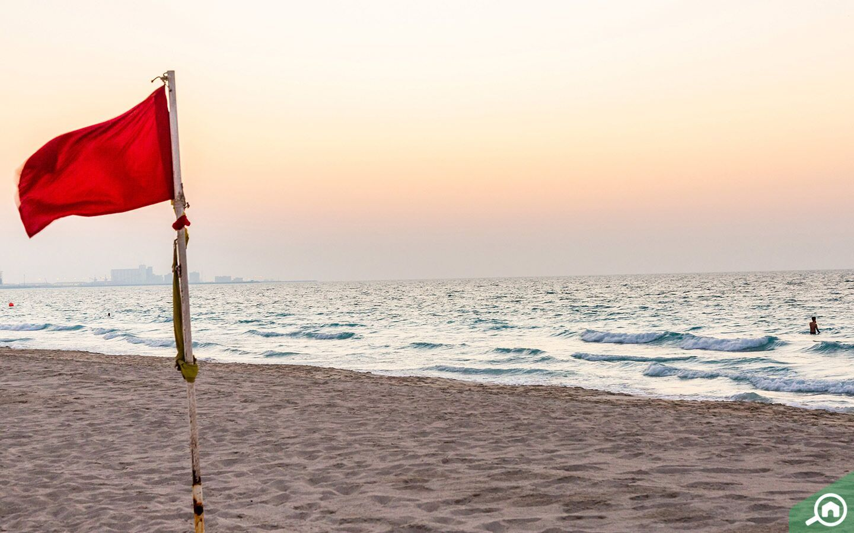 beaches near Khalifa City B