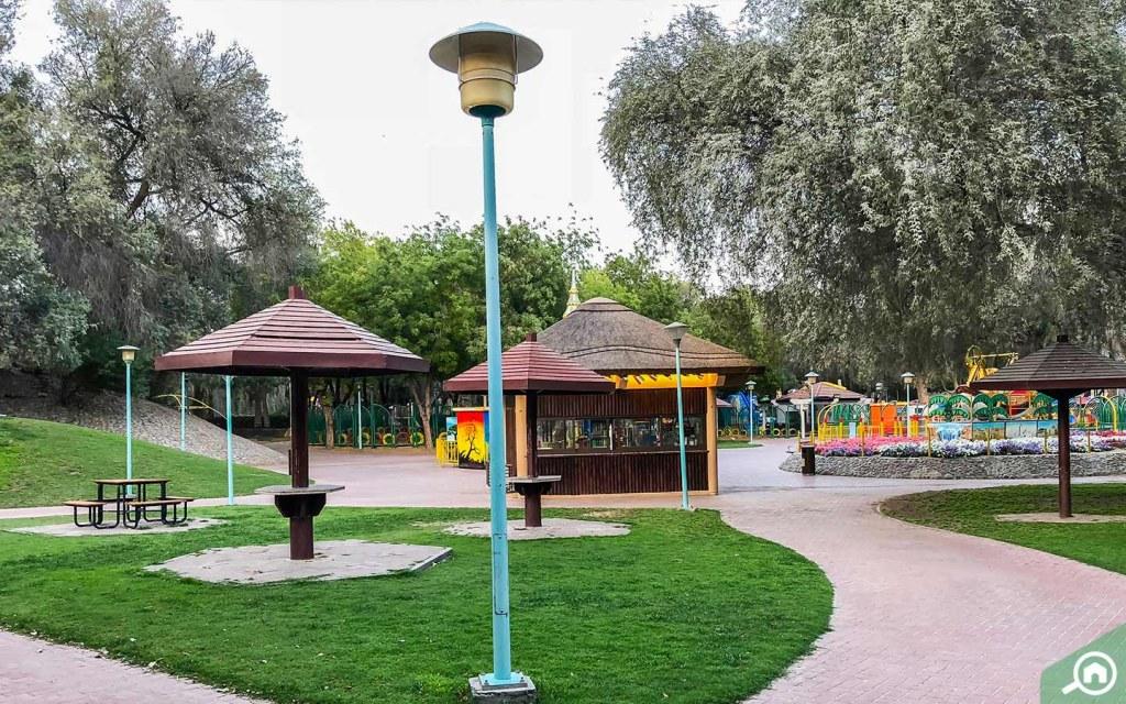Mushrif Park in Mirdif