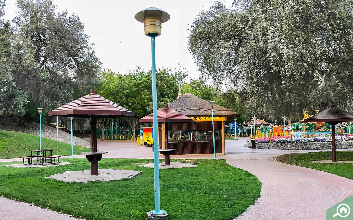 Mushrif Park in Mirdif