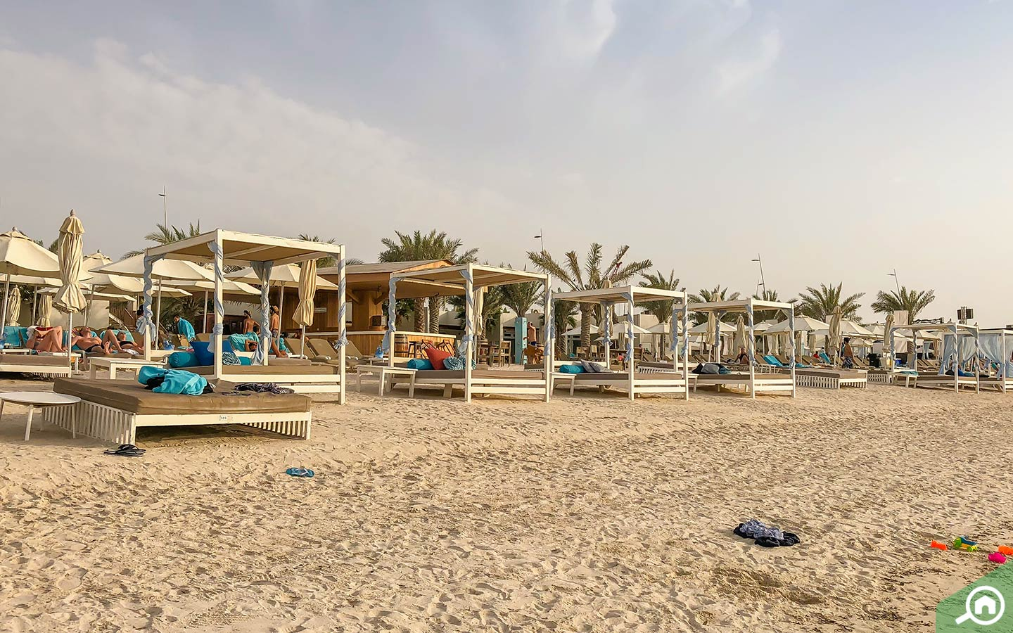 Beach on Yas Island