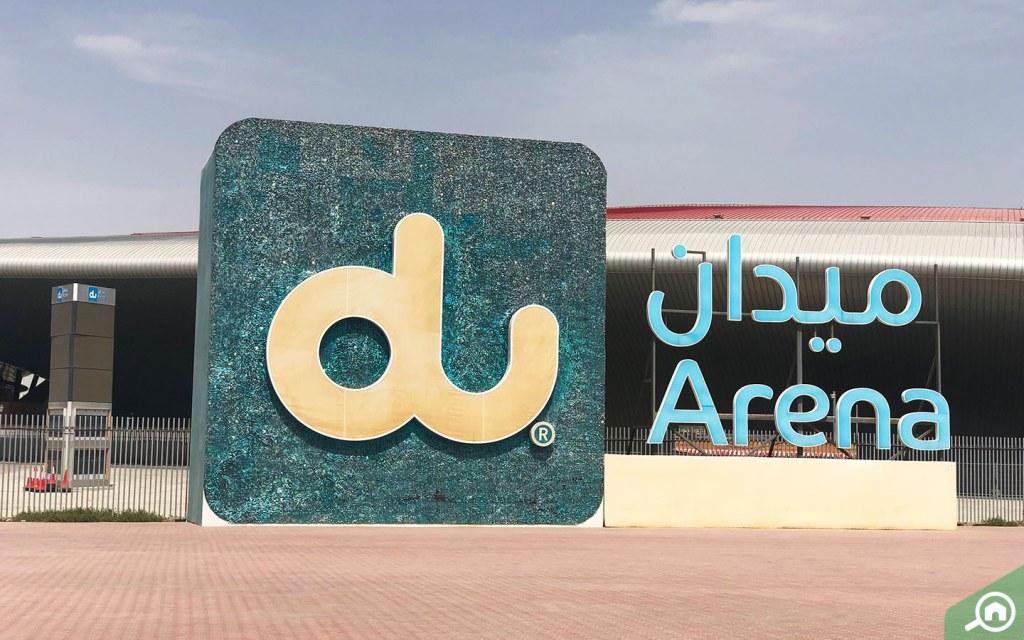 Du Arena on Yas island