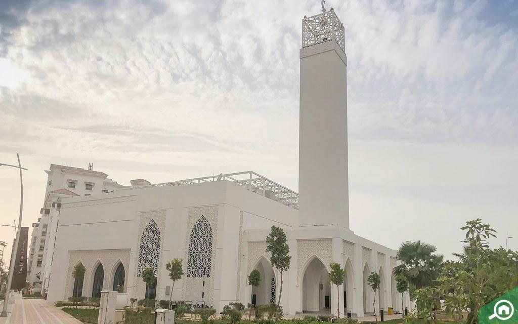 Mosque on Yas Island