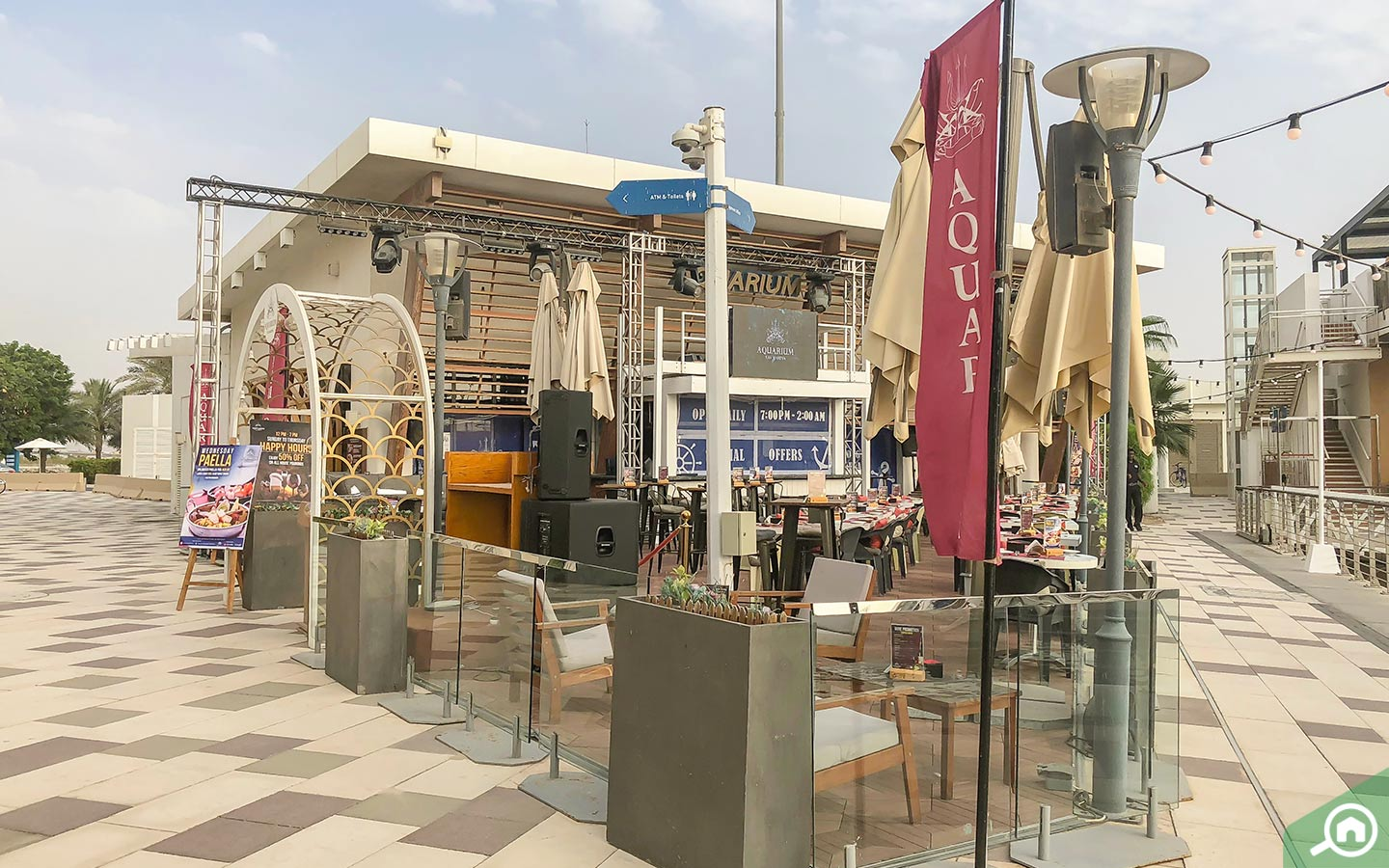 Restaurants on Yas Island