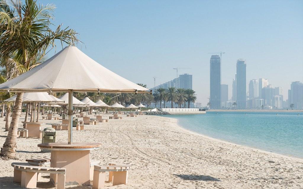 al mamzar beach is near al nahda