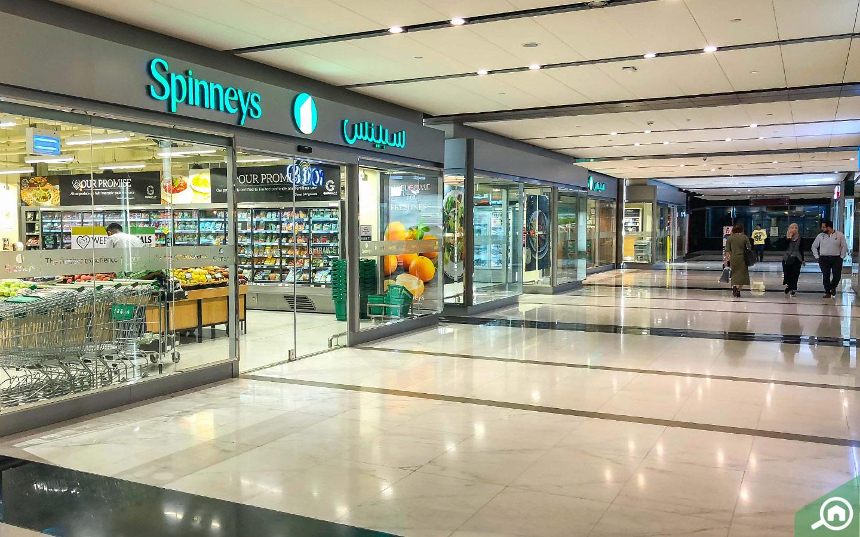 سوبرماركت سبينيس في منطقة مركز دبي المالي العالمي