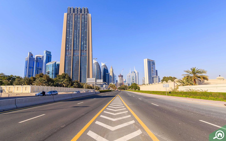 شقق في منطقة مركز دبي المالي العالمي