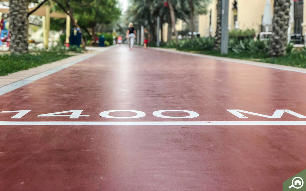 running track Palm Jumeirah