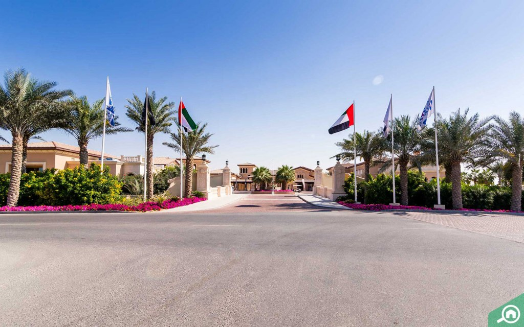 The Clubhouse at Jumeirah Golf Course