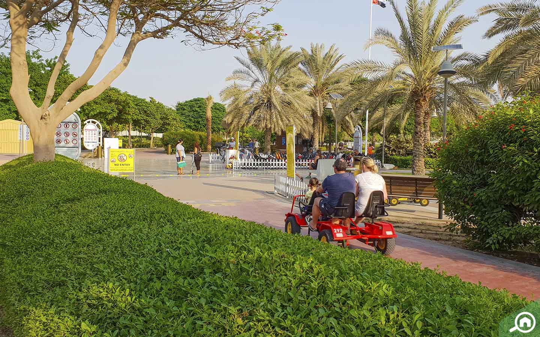 Karting in Al Barsha Pond Park