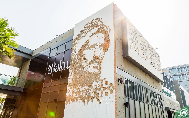 City walk mall in Jumeirah