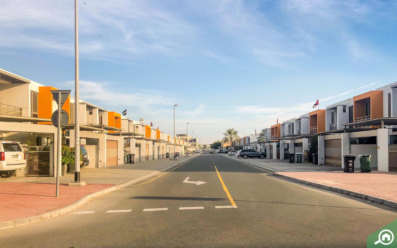 إطلالة أحد الشوارع في منطقة الصفا