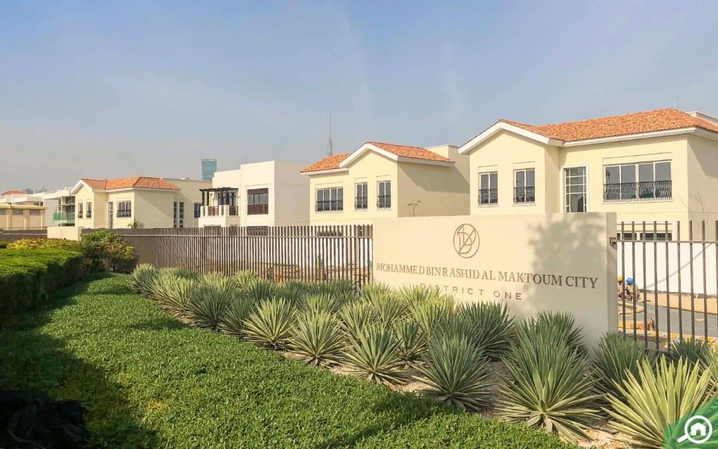 Villas in MBR City near Meydan