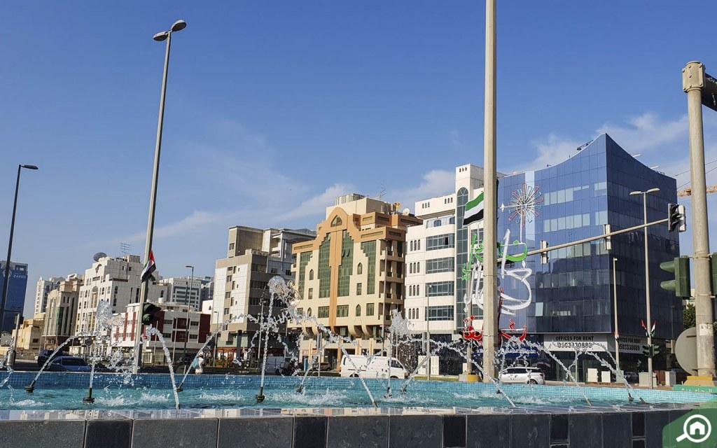 commercial spaces in Al Muroor