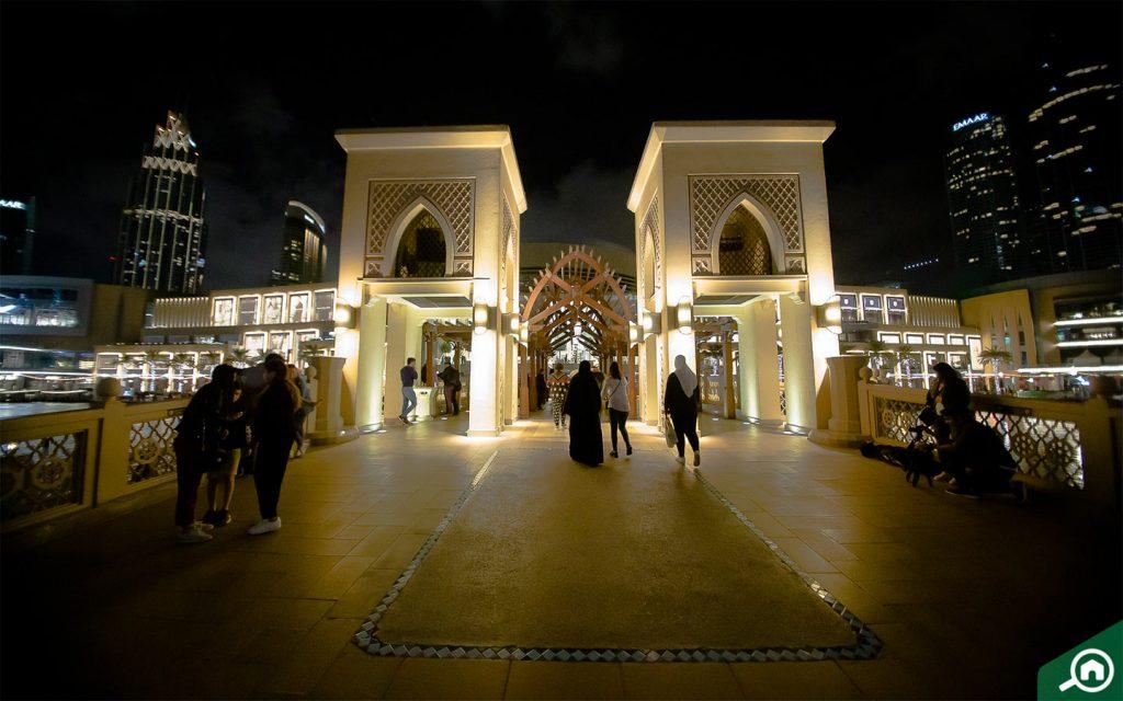 Dubai Mall, SZR