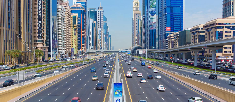 Image result for dubai road