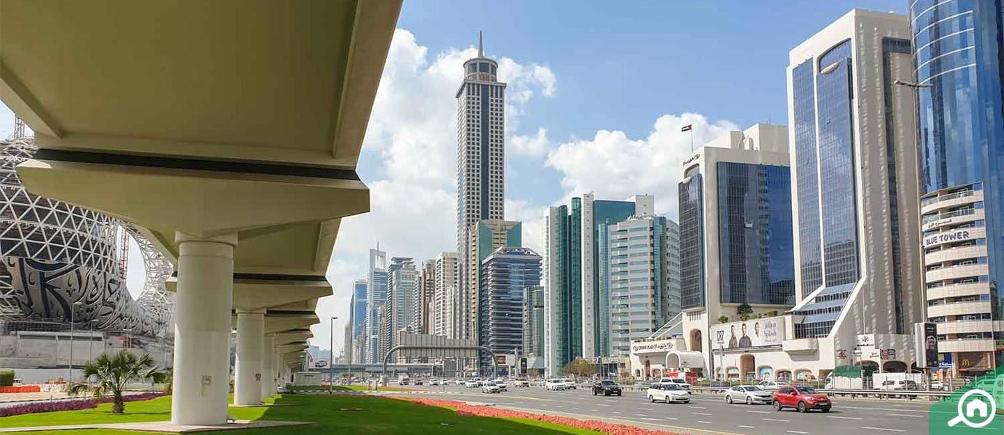 living in sheikh zayed road